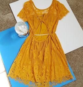 Charlotte Russe Gold Formal Dress
